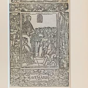 Miracoli stupendi fatti, Ave Maria by Alberto da Castello