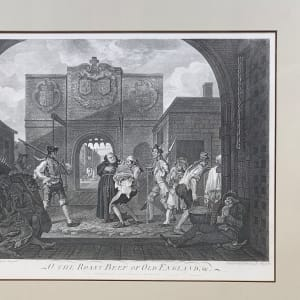 O The Roast Beef of Old England by William Hogarth
