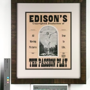 Passion Play, Edison's Copyrighted Production of The by Hennegan & Company