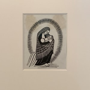 Madonna and Child by Desmond Chute