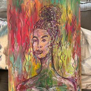 Prism (Purple lady) by Brian Ragsdale