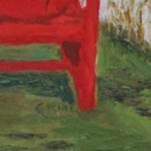 The Red Chair by Glenda King