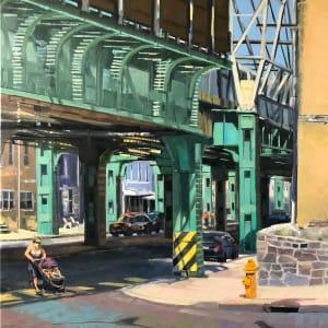 Under the Elevated by Elaine Lisle