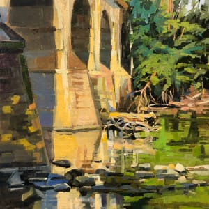 Bridge near Lock60 by Elaine Lisle