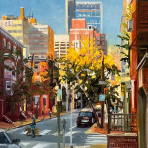 Sun on 18th Street by Elaine Lisle