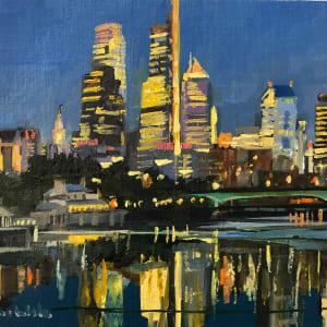 Philadelphia Lights by Elaine Lisle