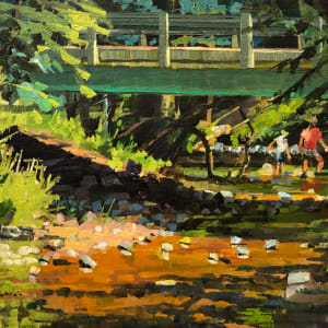 Stream Walking by Elaine Lisle
