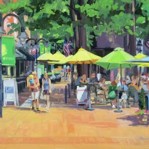 Sunday Stroll Charlottesville by Elaine Lisle