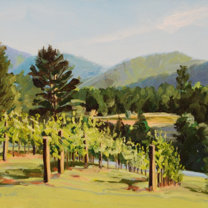 Veritas Vineyards by Elaine Lisle
