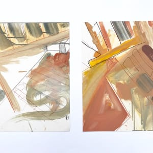 Option Two and Turning a Corner (diptych)
