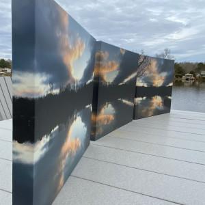 eXciting Sunrise Series© - Item #2966 by Lake Orange Sunrises LLC, Lisa Francescon, Owner