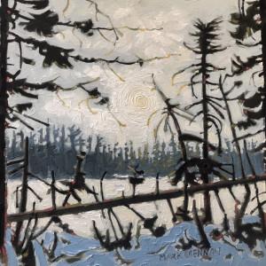Early January, Drydens Lake, Nova Scotia by Mark Brennan