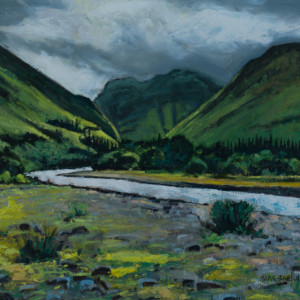 After Rain, Glen Coe, Scotland by Mark Brennan