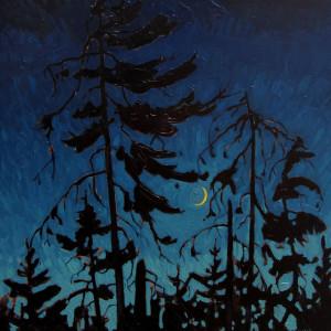 Crescent Moon, Liscomb, Nova Scotia by Mark Brennan