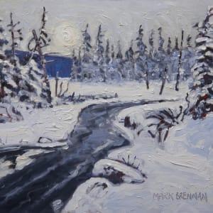Deep Snow Dalhousie Mountain, Nova Scotia by Mark Brennan