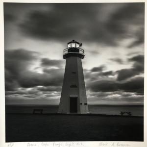 Dawn, Cape George Light, Nova Scotia by Mark Brennan