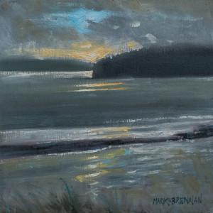 Light At Wine Harbour, Nova Scotia by Mark Brennan