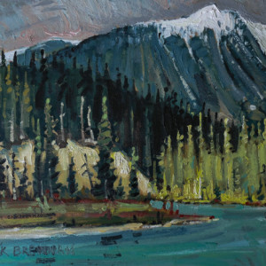 Somewhere In Yoho, Yoho National Park, British Columbia by Mark Brennan