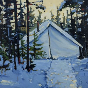 My Tent, Whitehill, Nova Scotia by Mark Brennan
