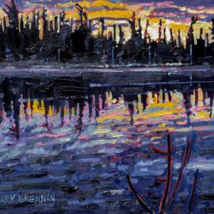 Summer Solstice Sunrise, Moose Lake, Pictou County, Nova Scotia