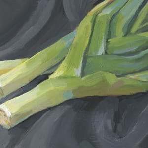 Leeks by Carrie Arnold