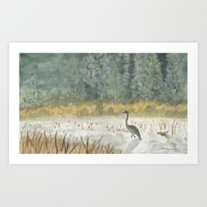 Heron Lake by Michelle Chudy