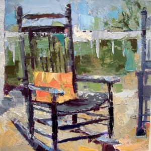 Porch Rocker by Judy McSween