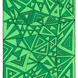 Lost name 2 - Green by Gregory Dubus