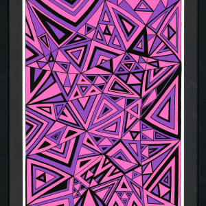 Lost name 3 - Purple by Gregory Dubus