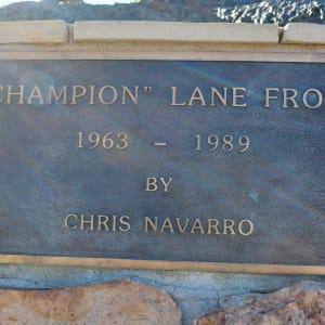 Champion Lane Frost by Chris Navarro
