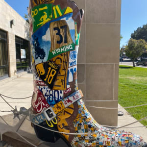 Licensed to Boot by Carey Junior High Art Club