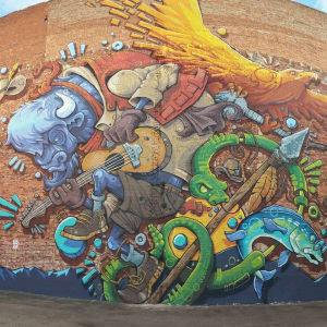 Buffalo Mural by Jordan Dean
