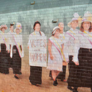 Women's Suffrage by Chris Hoffmeister