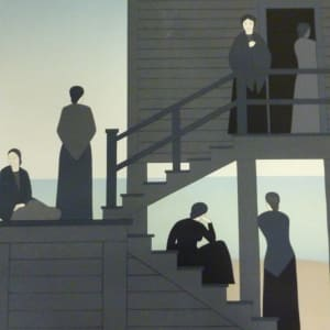 Waiting by Will Barnet