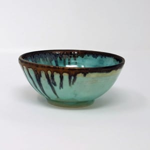 BRI057, Tiny Summer Clouds Bowl by Jane Bridger