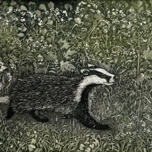 LON155, Badger on a Mission by Claire Longley