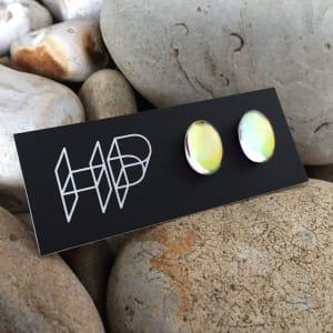 PAX360,  Oval DAZZLE Stud Earrings by Hildegard Pax - Jewellery