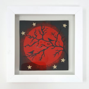 BRI066, Blood Moon, Socially Distanced by Jane Bridger