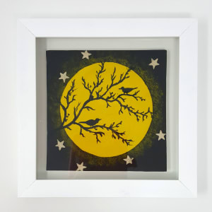 BRI067, Full Moon, Socially Distanced by Jane Bridger