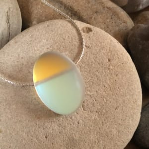 """PAX328, Glow - Oval 18"""" Necklace by Hildegard Pax - Jewellery"""