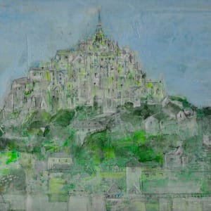 CHA183, Mont-St-Michel by Paul Chave - Painting