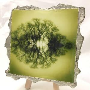 WEL147, Duotone 20 Green by Mark Welland