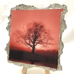 WEL149, Duotone Rising Sun in Red by Mark Welland
