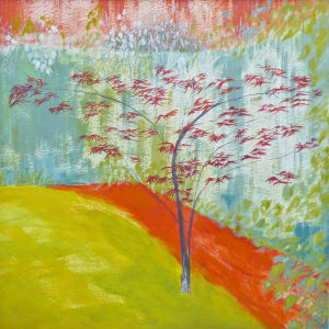 WHI023, Spring Acer by Katie Whitbread
