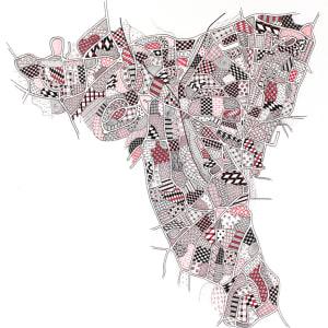 HIG006, Sevenoaks by Christine Highland - Maps
