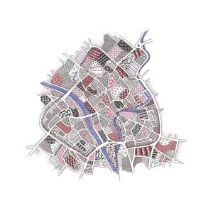 HIG090, York by Christine Highland - Maps