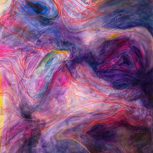 The Fog - Cartography IX by Mia Anika Jones-Walker