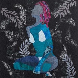 Blue Nude by Adana  Tillman