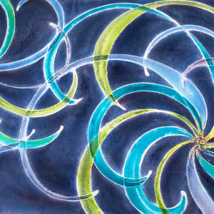 The Genesis of Gravitational Waves by Melynda Van Zee