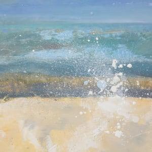 Blue Wave by Leslie Neumann  Image: Detail